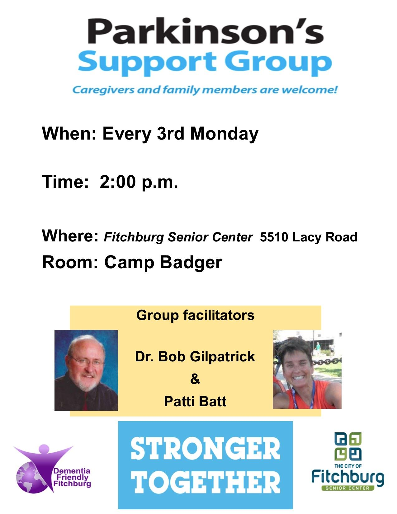 PD Support Group 2018