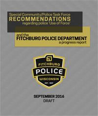 Fitchburg Task Force Report Progress Cover