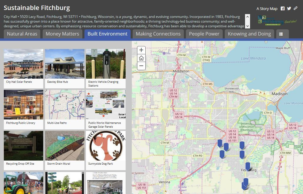 story map screenshot