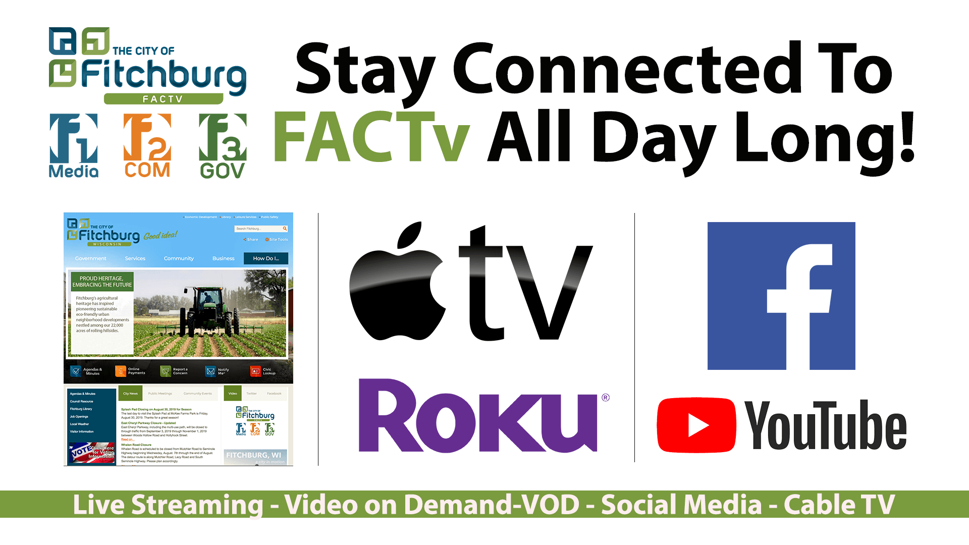 New Stay Connected to FACTv